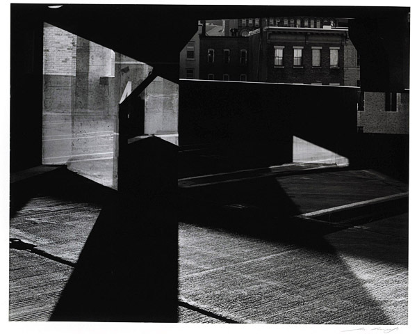 Photo courtesy of the University of Maine Museum of Art  Untitled Bangor ME: Silver chloride contact print &quotUntitled&quot by Ilya Askinazi of Bangor is of Bangor in 2008. The photograph will be displayed in exhibit &quotA Pointed View&quot Oct. 8-Dec. 30 at the University of Maine Museum of Art.