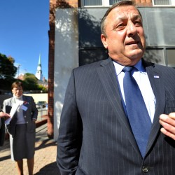 LePage takes hits on new comments; says he will tell president to 'go to hell'