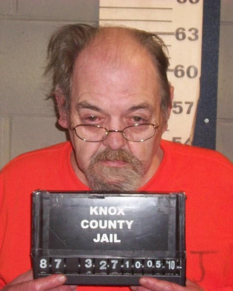 Frederick Mank. Photo courtesy of Knox County Jail w/Steeves story