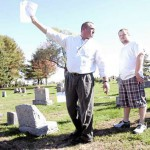 Mattanawcook Academy students wrap up cemetery mapping project