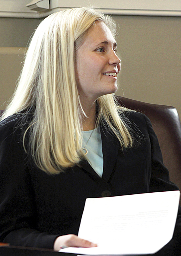 (Maine House Majority Leader Hannah Pingree, D-North Haven) (AP Photo/Pat Wellenbach)