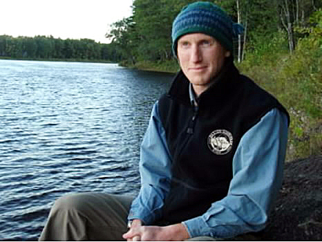 Richard Morrill, Baxter State Park resource manager. (Photo courtesy of BSP)