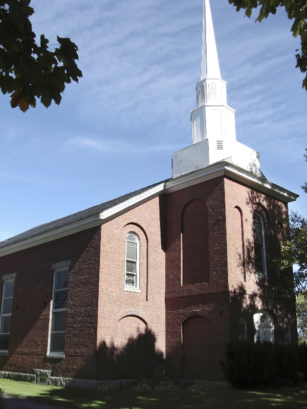 United Methodist Church in Dover-Foxcroft will celebrate its 150th anniversary with events planned this weekend. (Bangor Daily News Photo by Diana Bowley)