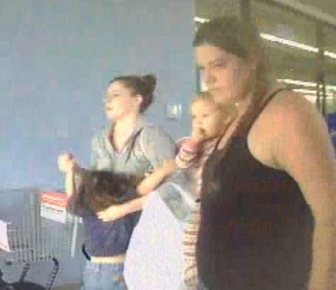 State Police are seeking the public's help in identifying two women who are believed to have used a stolen ATM card at stores in Bangor and Lincoln .  The card had been accidental dropped in a parking lot on the Hogan Road in Bangor on September 24 and was used the next day at a store in Bangor and four stores in Lincoln.  Trooper Corey Smith said the card was used at the Hogan Road Deli and Convenience Store in Bangor and at Smokes for Less, Wal-Mart, Why Not Stop and the Hannaford store --- all in Lincoln.  The card was cancelled afterwards.    Surveillance photos from one of the stores shows the two women leaving, each holding a young children.   The women are believed to have been driven to the stores in a dark colored GMC pickup truck.     Anyone recognizing the two women are asked to call State Police in Augusta at 624-7076.