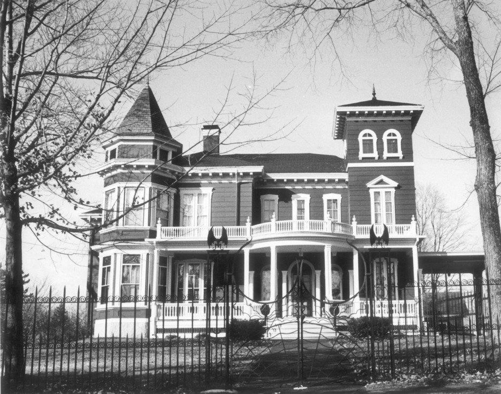 Stephen King's home on West Broadway in Bangor is surrounded by a fence adorned with bat wings on the front gate, making it one of the most photographed homes in the city.  BANGOR DAILY NEWS FILE PHOTO MADATORY CREDIT