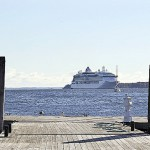 Rockland, cruise line at odds over fee increase