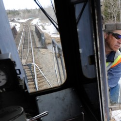 Rail traffic triples on Maine Northern Railway line, says transport chief