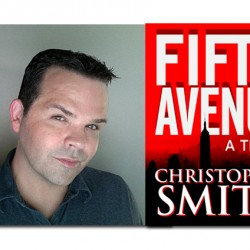 Film critic Chris Smith emerges from the dark theater into NYC lights