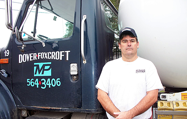 Tom Tash, 41, of Dover-Foxcroft and a driver for McKusick Petroleum, has been diagnosed with cancer. Fellow employees, friends and community members are raising funds to help the family with expenses incurred by his illness.  For Joni Averill