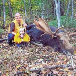 Moose visits woman in St. John Plantation — and stays
