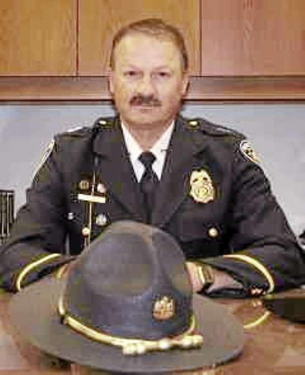 headshot of Presque Isle police chief Naldo Gagnon, which goes w/  a story slugged NALDOLEAVES, LYNDS, PRESQUE ISLE