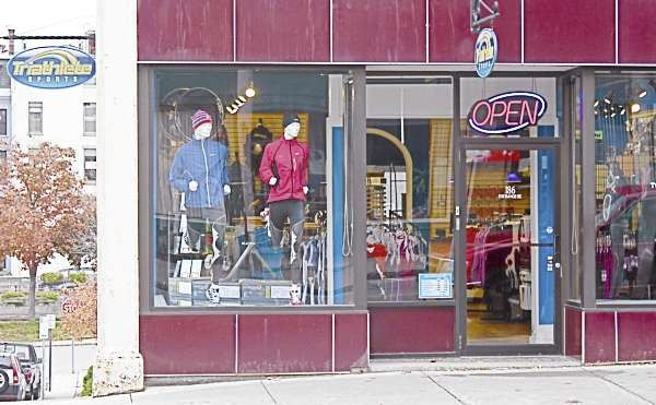 Triathlete Sports reopened its retail location at 186 Exchange St. in Bangor last Thursday (Oct. 21, 2010) after two years of operating solely as an online business. (Bangor Daily News/Aislinn Sarnacki)