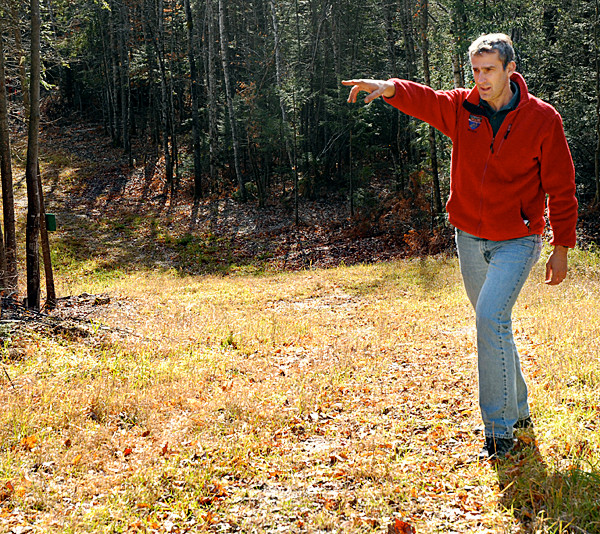 Jeff Dubis, chief of competition for the 2011 World Cup Biathlon in  