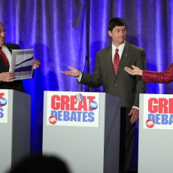 Government spending at center of Maine gov debate