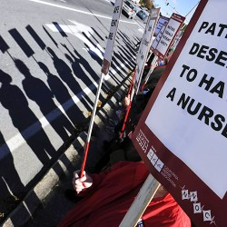 Nurses, EMMC talks halt; strike set for Nov. 22