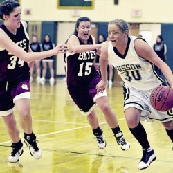 Comstock's inside game propels Husson victory