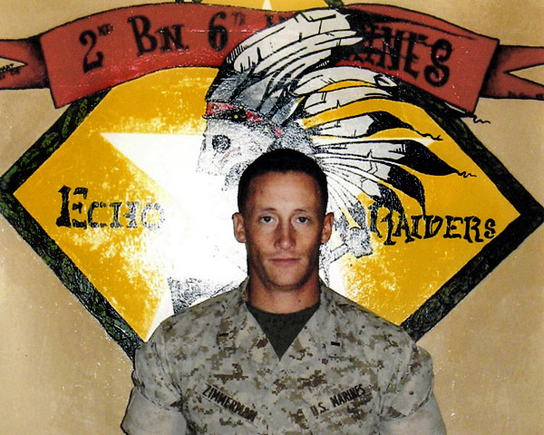First Lt. James Zimmerman, courtesy of Greater Houlton Christian Academy .