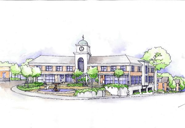 concepts Katahdin building site BLUE concept. w/Neff story