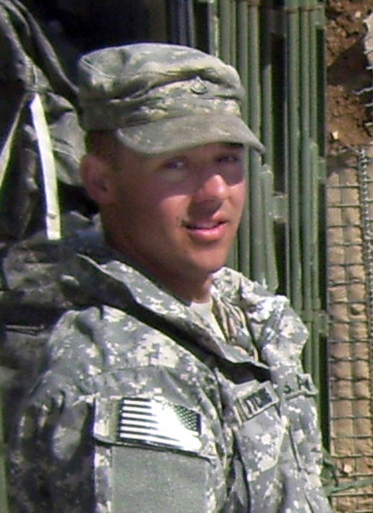 This Feb. 16, 2010 photo provided by the Department of Defense shows 20-year-old Spc. Andrew Hutchins, of New Portland, Maine, who was killed Monday Nov. 8, 2010 while on tower duty in Khost Province in eastern Afghanistan near Pakistan. Hutchins was a 2008 graduate of Carrabec High School in North Anson, Maine and was serving as a military policeman assigned to the 101st Airborne Division, Fort Campbell, Ky. (AP Photo/Department of Defense)