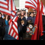 Townspeople, veterans come out to honor fallen Marine