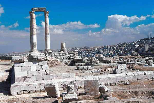 Amman, Jordan.  Stock image from Ablestock.com. Royalty-free.  (Credit:  Jupiterimages)