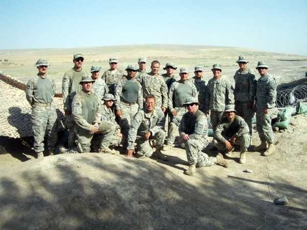 Photo courtesy of Ghost Squadron  3. Members of Troop 7-10th CAV serving in Herat, Afghanistan.