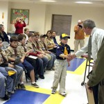 Bangor Cub Scouts earn patch for healthy habits