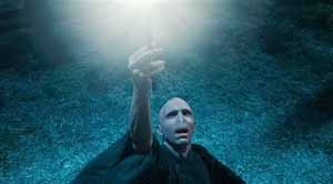 In this film publcity image released by Warner Bros. Pictures, Ralph Fiennes is shown in a scene from &quotHarry Potter and the Deathly Hallows: Part 1.&quot (AP Photo/Warner Bros. Pictures)