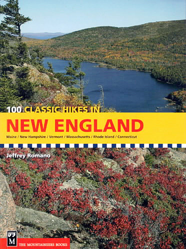 Brad Viles. 100 Classic Hikes in New England guidebook. Outdoors page to Strout.