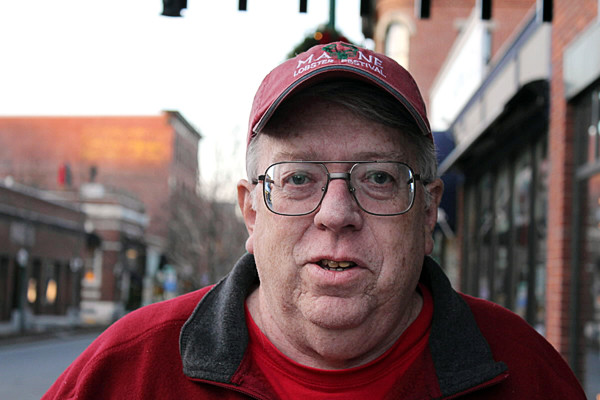 Brian Harden, the new mayor of Rockland. (Bangor Daily News/Heather Steeves)