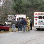 Swanville man injures head in rollover