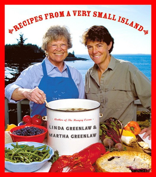 (&quotRecipes From A Very Small Island&quot by Linda Greenlaw, right, and Martha Greenlaw). T(AP Photo/Hyperion/Will Ryan)