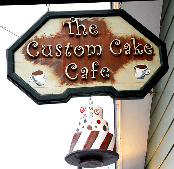 Custom Cake Cafe in Fort Kent. (Photo by Julia Bayly)