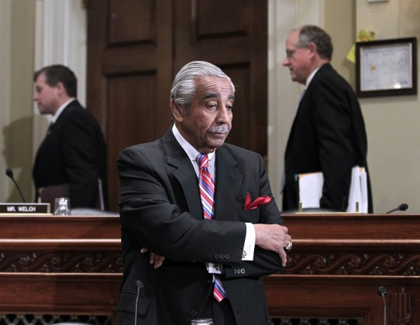 Rep. Charlie Rangel, D-N.Y. is seen on Capitol Hill in Washington, Monday, Nov. 15, 2010, before the start of the House Committee on Standards of Official Conduct hearing, where as he faced 13 separate counts of violating House ethics rules.