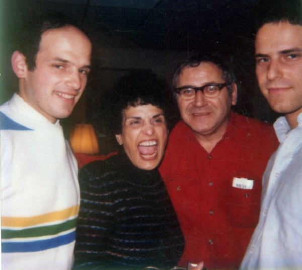 John (from left), Rosemary, Robert and Paul Baldacci pose in an undated photo.