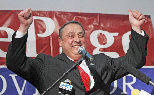 The Bangor Daily news has projected Paul LePage as the winner in the Maine governor's race.