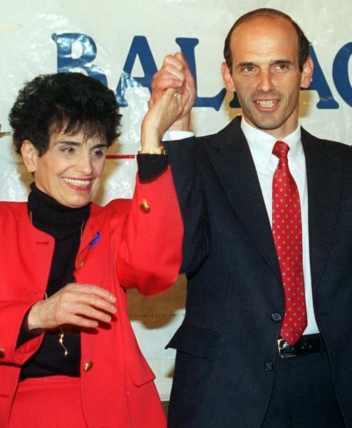 Rosemary Baldacci and her son U.S. Rep. John Baldacci.