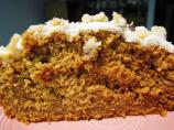 Pumpkin Spice Cake offers a tempting alternative to richer holiday desserts.