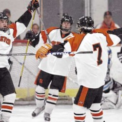 Brewer hockey rolls over Waterville