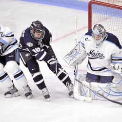 Maine coach Whitehead: Strong team defense is a key for weekend series
