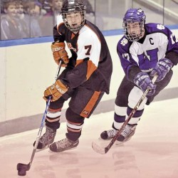 Brewer routs Presque Isle in hockey