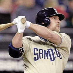If Bangor resident Matt Stairs makes the Nationals roster next spring and hits a homer for them, he will own the career records for most teams played for (13) and most teams for which he hit at least one homer (12). (AP File Photo)