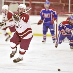 Massey lifts Waterville hockey by Bangor