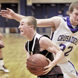 Caribou boys hold off Mattanawcook Academy