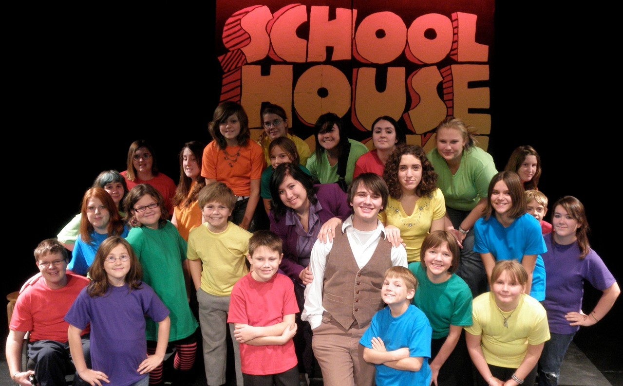 These Searsport, Frankfort and Stockton Springs schoolchildren will perform &quotSchool House Rock Live!&quot Nov. 12, 13, 19 and 20, at Searsport District High School. Taking part in the production are Tyler Greenlaw, Marion Nickerson, Paige Ireland, Brianna Housman, Cole DuBois, Holden Clapp, Mariah Albanese, Erica Badger, Amanda Dickey, Daniel Dickey, Gage Hanson, Alex Hooper, Elizabeth Hustus, Samantha Hutchins, Dayna James, Kaylee Knowles, Cassi McKay, Katelyn Mills, Shauna Noble, Jessica Pendleton, Zoe Perkins, Heidi Plosjaz, Jessica Plosjaz, Michelle Provost and Cheyenne Runci.