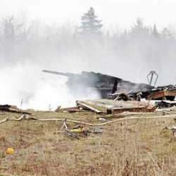 2 horses die in Corinth barn fire in Saturday's storm