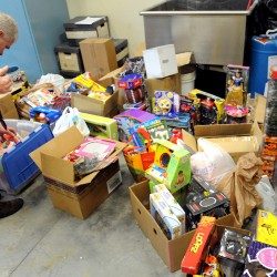 Toys for Tots dropoffs in Waldo County