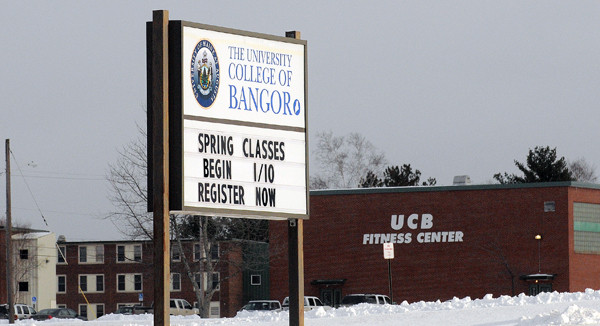The University College of Bangor. (Bangor Daily News/Gabor Degre)