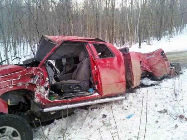 Garland crash. courtesy photo w/Ricker story