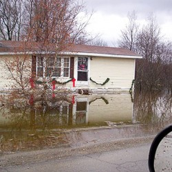 More flooding occurs as heavy rains continue to pound Maine